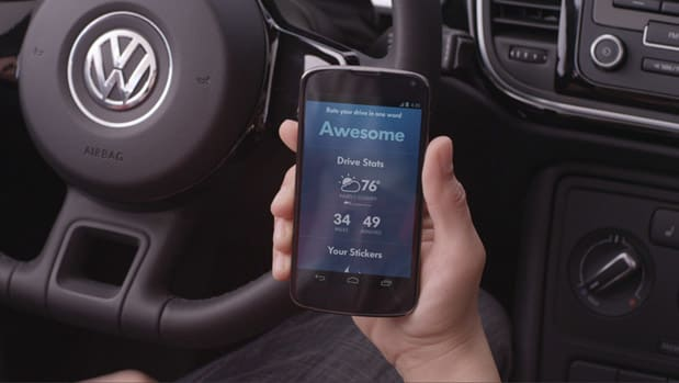 Volkswagen and Google launch SmileDrive Android app: it