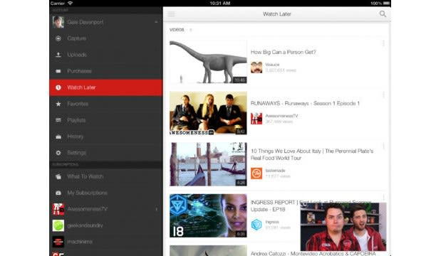 YouTube 2 0 for iOS brings multitasking and playlist searching
