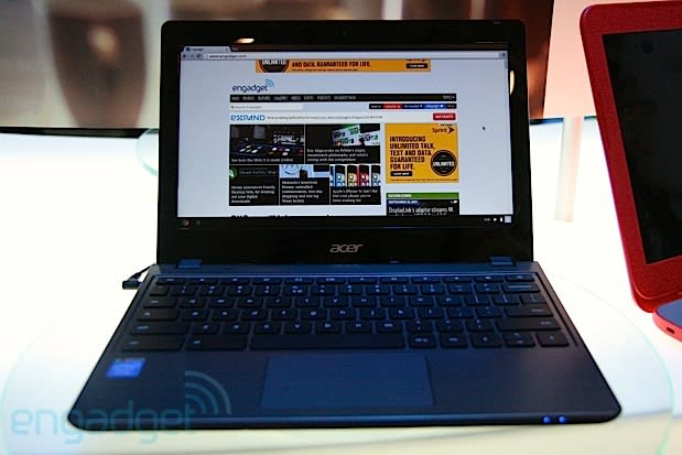 Acer details Haswell-based C720 Chromebook, begins pre