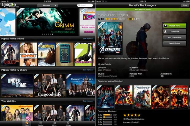 Amazon's Instant Video apps for iOS improve AirPlay support
