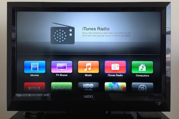 Apple TV gets iTunes Radio, AirPlay from iCloud and more