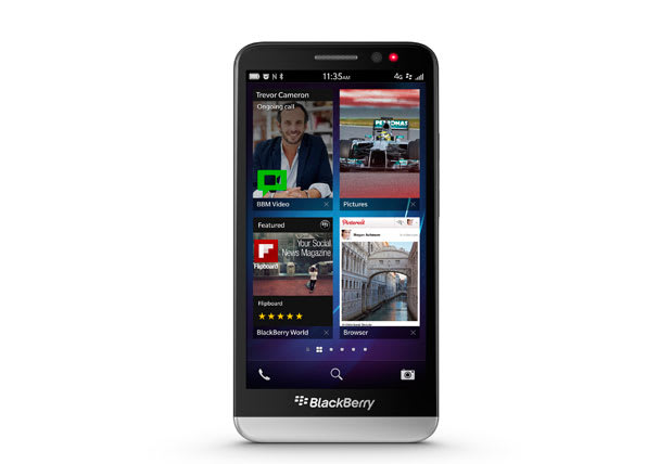 BlackBerry Z30 official: 5-inch Super AMOLED display, 1 7GHz
