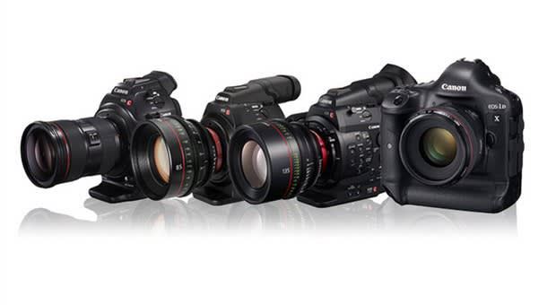 New firmware gives Canon's Cinema EOS camera line a prodigious 80,000 ISO