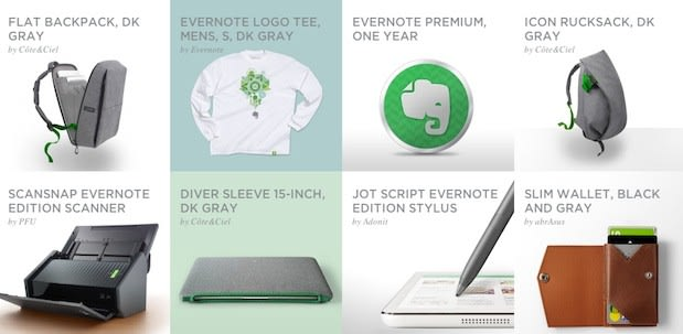 Evernote expands with new product line: scanners, Post-Its, wallets and socks
