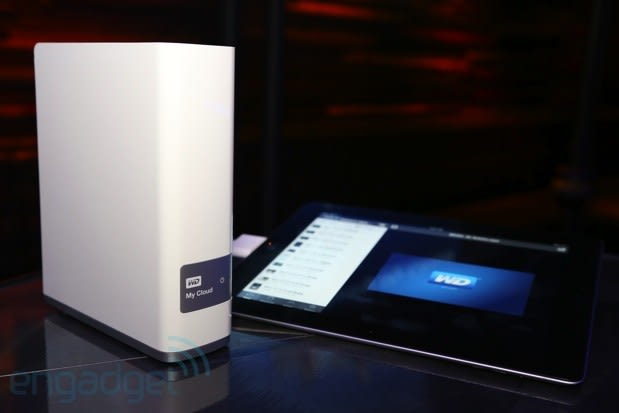 WD announces My Cloud, an external drive that connects to