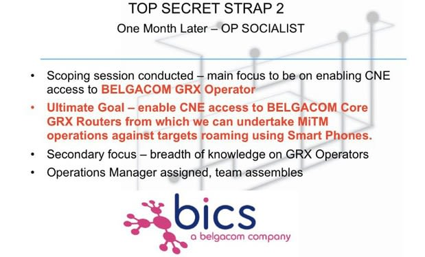 Snowden leak suggests UK was spying on Belgian telecom