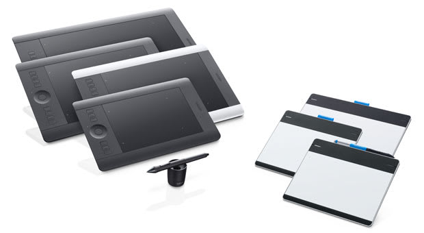 Wacom revamps Intuos pen tablet line with regular and Pro models
