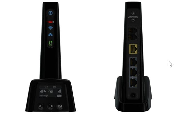 Verizon's new 4G LTE router has a landline jack, offers a