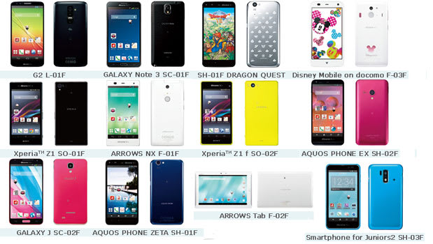 NTT Docomo's winter lineup arrives, includes Sony Xperia Z1