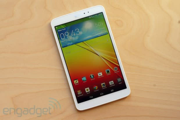 LG G Pad 8 3 review: well-designed, but priced too high