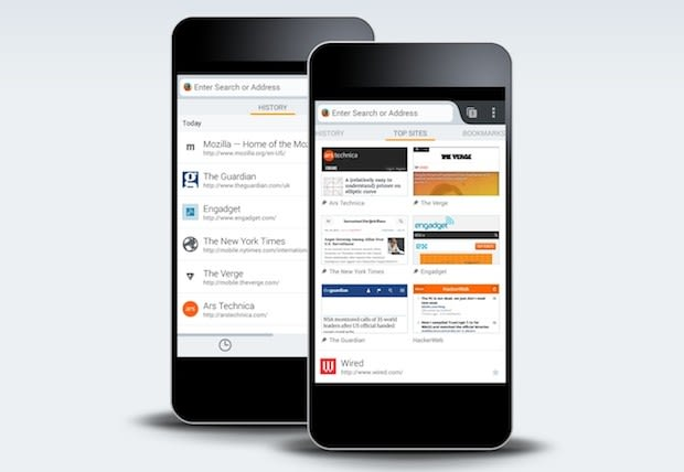Firefox Beta brings new 'Home' design to Android, desktop version