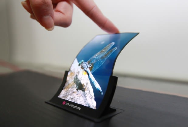 LG confirms production of 'bendable and unbreakable' smartphone displays