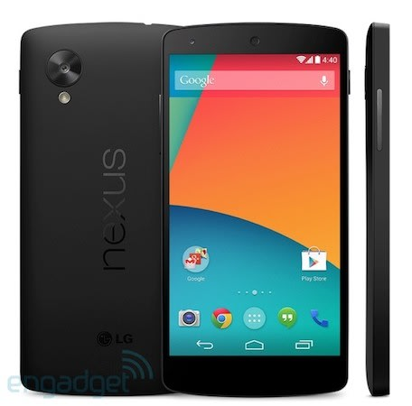 Nexus 5 listing appears in the Play Store, teases 16GB for $349