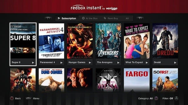 PS3 users get more streaming options with Redbox Instant and TuneIn