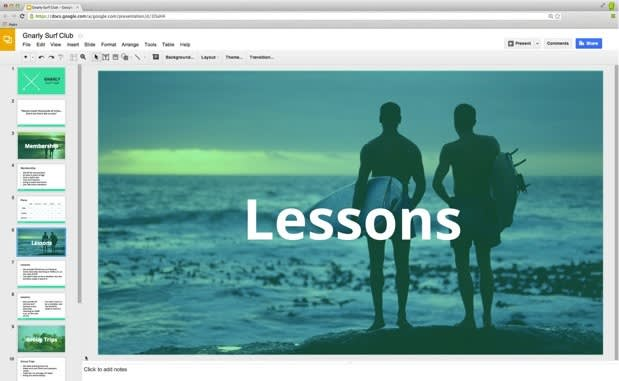 google drive updates slides with custom themes widescreen presentations