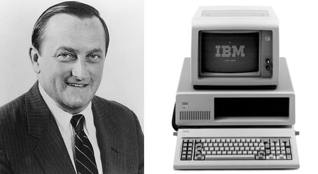 The Man Responsible For Shepherding The Original Ibm Pc To Life In A Single Year William C Lowe Hasd At  After He Convinced Then Ceo Frank Cary