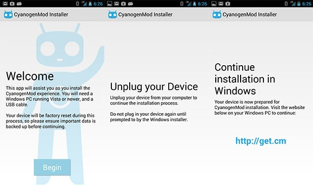 CyanogenMod Installer pulled from Google Play, lives on via sideloading