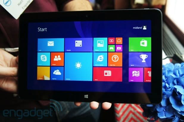 Dell's Venue 11 Pro tablet now available in the US, starts