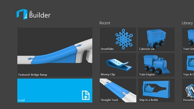 Microsoft's 3D printing app for Windows 8.1 eases you into object creation