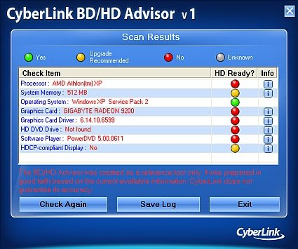 Check your PC for Blu-ray & HD DVD compatibility