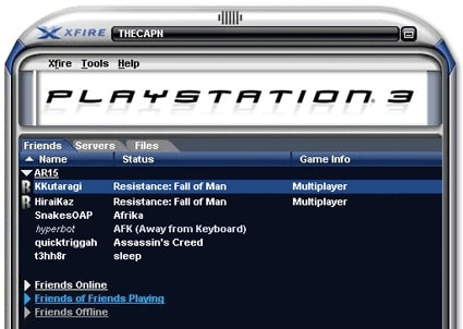Fighting fire with Xfire: Sony's version of Xbox Live [update 1]