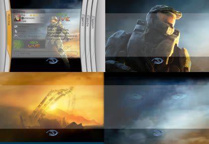 Get your yummy Halo 3 theme at a kiosk near you