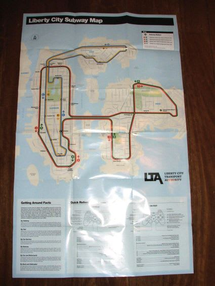 GTA IV: subway map, PS3 controls revealed | Engadget