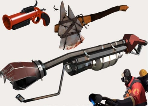 See Tf2s Pyros New Weapons Achievements