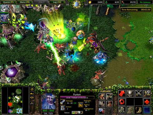 Warcraft 3 patched to 1 22a