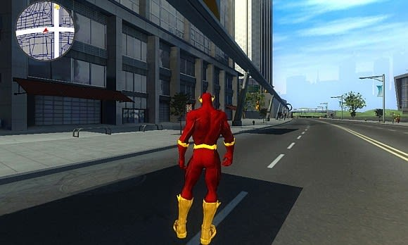 See 'The Flash' superhero game in action -- before it