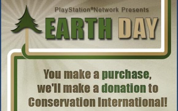 Sony to donate up to $10,000 in celebration of Earth Day