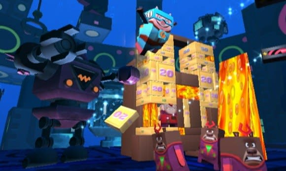 Joystiq hands-on: Boom Blox Bash Party level editor