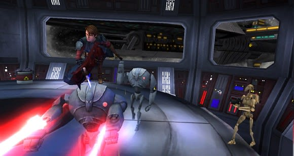 Star Wars Republic Heroes demo caters to disturbing lack of