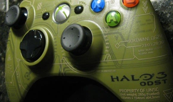 Halo 3: ODST wireless controller is Gamestop exclusive
