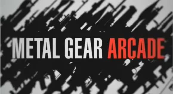Insert coin to play this Metal Gear Arcade trailer