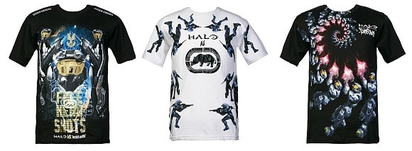 New Halo-themed Ecko shirts rival everything for ugliest