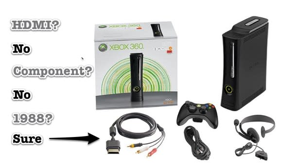 Microsoft: Dropping HDMI cable gives Xbox 360 consumers