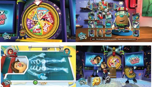b8315803d Hasbro Family Game Night 2 hits the Wii (ever so gently) this October with  more family-friendly games based on real-world Hasbro titles.