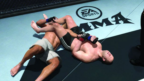Lock your eyes on first EA Sports MMA screenshot