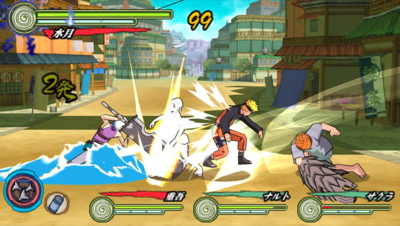 Naruto Shippuden: Ultimate Ninja Heroes gets a third game