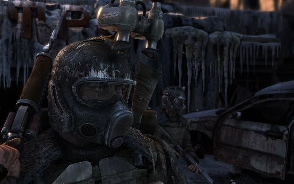 Metro 2033 supports DirectX11, as evident in eight new screens