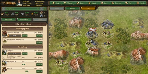 EA's Lord of Ultima browser-based MMO officially launches next week
