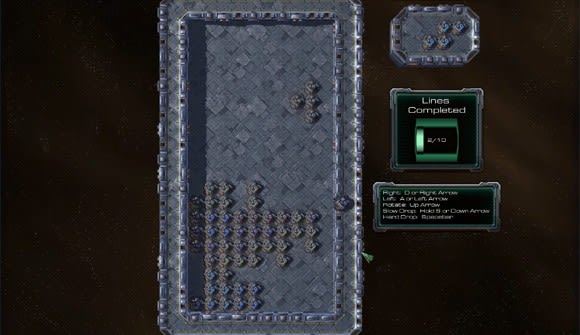 StarCraft 2 map editor turns supply depots into Tetris blocks