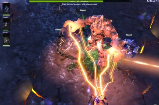 there was an error connecting to the spore servers