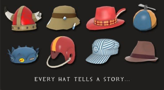 describe team fortress 2 s hats in the tf2 hat describing contest