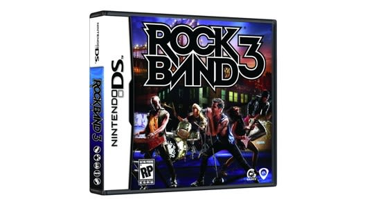 Rock Band 3 DS's full track list revealed