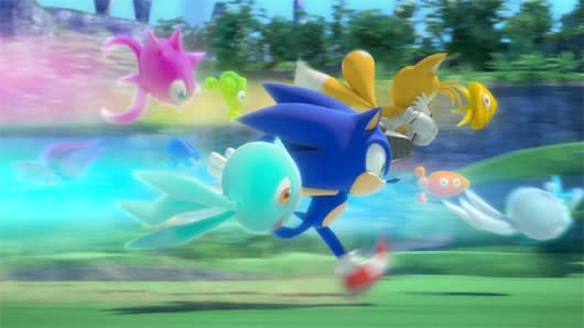 Sonic Colors Preview Wisp You Were Here