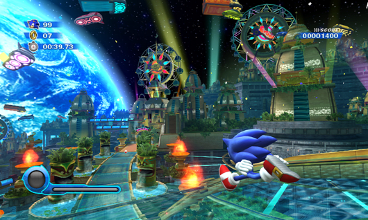 Sonic Colors Review A Bolt From The Blue
