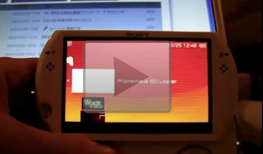 PSP Go hacked to load game ISOs