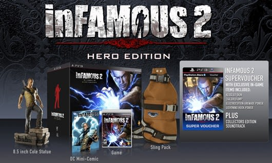 Infamous 2 Saves The Day On June 7 Hero Edition Confirmed
